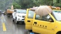 Heavy rains trigger deadly landslide in China killing 10