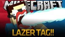 IMMA FIRIN MAH LAZER!!! [Minecraft Lazer Tag]