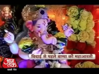 Sharad & Divyanka at Ganpati Visarjan