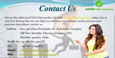 Green HRs Placement Consultants in India for Overseas Recruitment and Placement