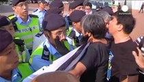 China: conmemoraciones en Pekin y protestas en Hong Kong