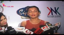 Spicy Mugdha Godse Spotted @ Bridal Handbag Collection Launch