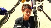 """Une de """"Minute"""" et """"Valeurs Actuelles"""" : Najat Vallaud Belkacem répond en citant Desproges"""