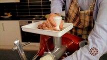 Accessoire hachoir à viande et saucisse pour robot suédois
