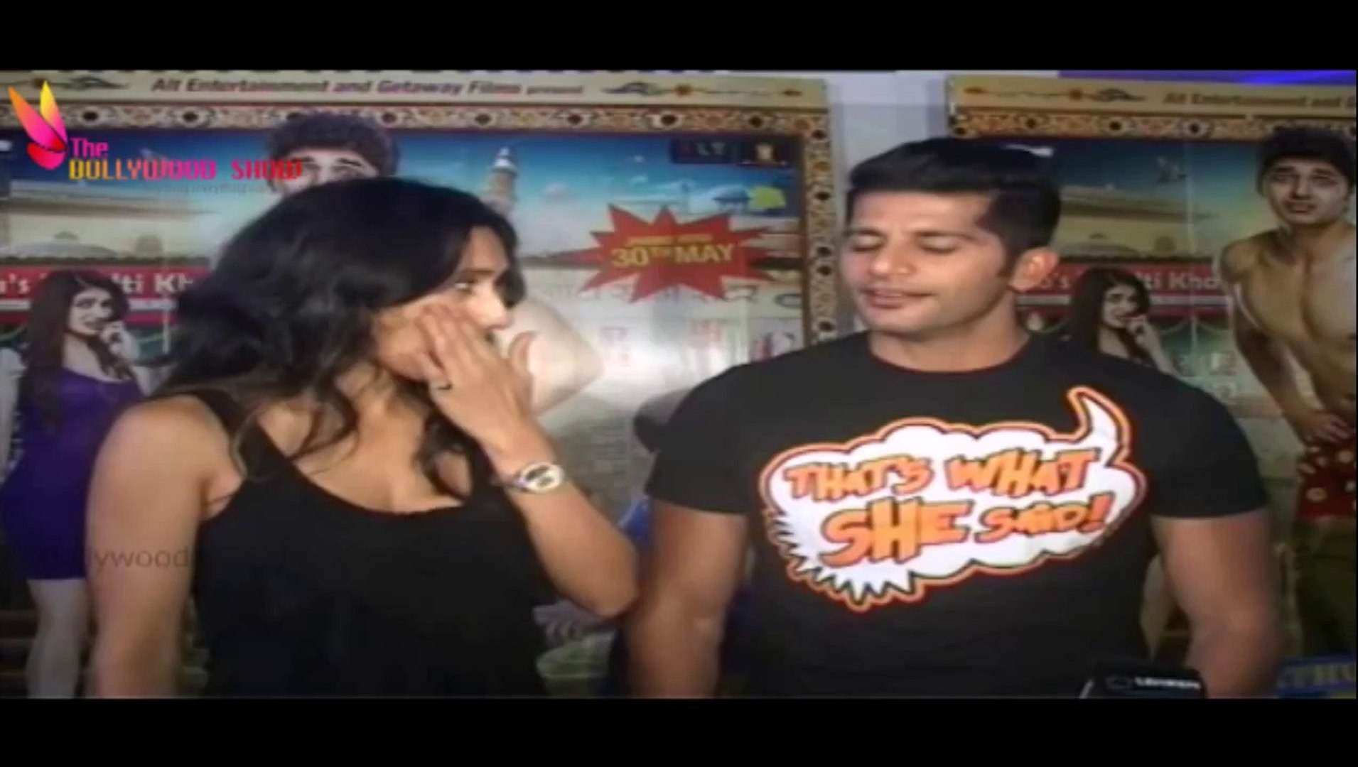 Teejay Sidhu & Karanvir Bohra Funny Comment on Kuku Mathur Ki Jhand Ho Gayi Movie