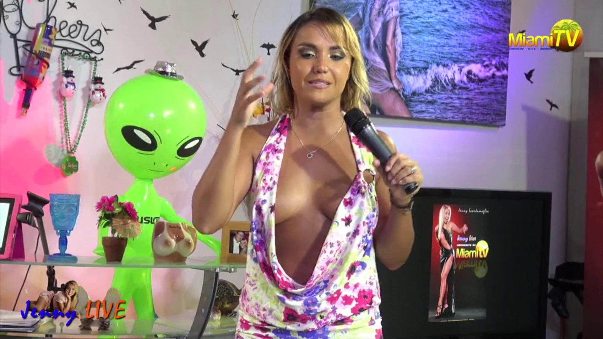 Jenny Miami Tv Topless jenny live 517 - addictions - jenny scordamaglia - miami tv