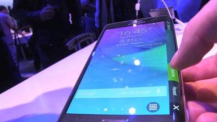Samsung Galaxy Note Edge: la prise en main