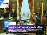 Avioanele NATO vin în România. Traian Băsescu va cere mai multe nave NATO pe Marea Neagră, în contextul crizei din Ucraina. România este în afara oricărei ameninţări, susţine Traian Băsescu.