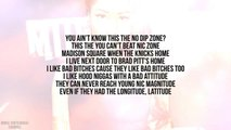 Nicki Minaj - No Flex Zone (Verse - Lyrics Video)