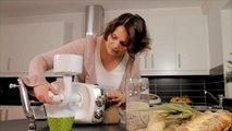 Moulin à farine et café pour robot suédois
