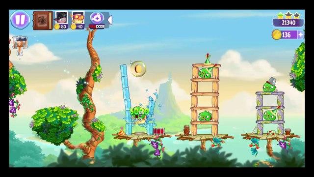 Soluce Angry Birds Stella 3 étoiles au niveau 12 à 16