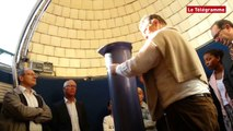 Brest. Des collégiens découvrent le futur observatoire de la Pointe du Diable