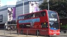 Buses at Mercury Gardens, Romford, East London 20-08-14