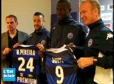 L'Estac présente ses nouvelles recrues : Babacar Guèye et Jonathan Martins Pereira