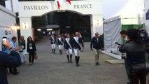 L'équipe de sauts d'obstacles au club France