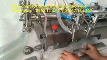 Máy chiết rót dầu ăn, máy chiết rót dầu nhớt, máy chiết  rót 2 vòi, máy chiết rót dịch lỏng bằng piston