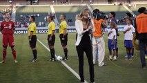 Fiesta Movement Mission #3_ National Anthem Performance - Chivas USA Game