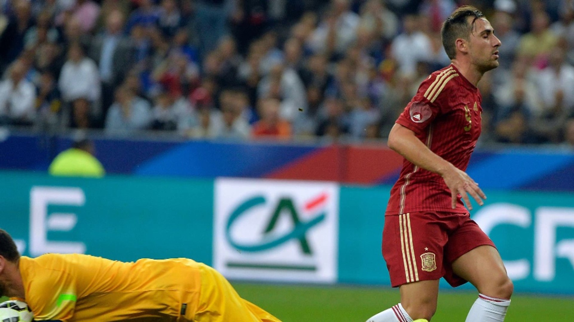 Del Bosque happy with new-look Spain