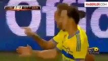 İsveç'in Golcüsü Ibrahimovic'ten Bir Rekor Daha