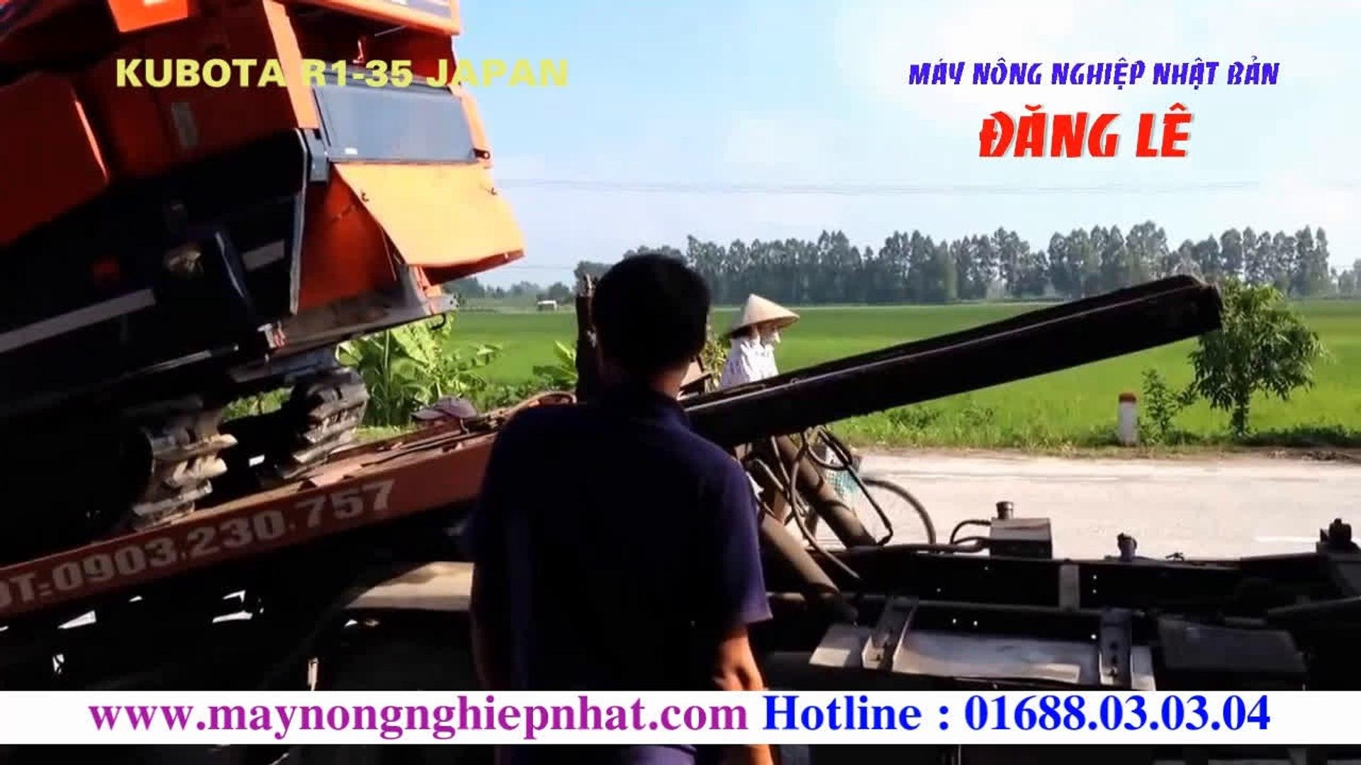 [Đăng lê]Khách hàng tin tưởng Liên tục xuất máy gặt liên hợp Kubota R135 cho khách hàng ở Bắc Ninh v