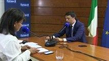 """Matteo Renzi : """"Si nous ne changeons pas les choses, nous sommes conservateurs"""""""