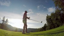 So impressive Golf Trick Shot - filmed with GoPro
