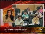 """""""No es cuestión de gustos y disgustos del presidente Correa"""", dijo Rosana Alvarado"""