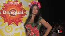 """DESIGUAL"" feat ADRIANA LIMA - Full Show Spring Summer 2015 New York by Fashion Channel"