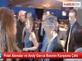 Polat Alemdar ve Andy Garcıa Basının Karşısına Çıktı