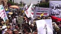 Yémen: les rebelles chiites manifestent à Sanaa
