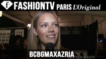 BCBGMAXAZRIA Backstage - Models Rehearse | New York Fashion Week NYFW Spring/Summer 2015 | FashionTV