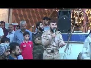 كلمة للشيخ زهران علوش ألقاها على جرحى المجاهدين