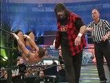 Randy Orton, Ric Flair & Batista vs Rock'n'Sock Connection (the Rock & Mankind) - WMXX