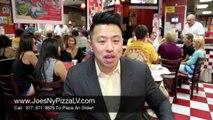 Pizza Las Vegas   Best Pizza in Las Vegas   Joe's New York Pizza Reviews pt. 17