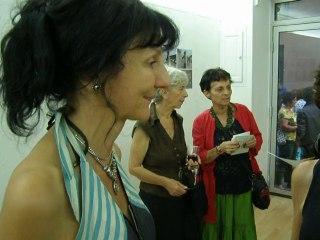 Martine SAUREL . Expose a la Galerie 4' BARBIER à Nimes