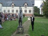 défilé de mode et spectacle équestre Blois 2014