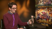 The Boxtrolls - Exclusive Interview With Isaac Hempstead Wright And Travis Knight