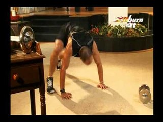 Burn It - Warm Up Part 2 With Stretching