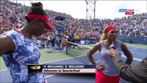 Williams/Williams vs Muguruza/Suarez Navarro 2014 Highlights