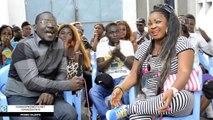 La comédienne Nana AMELIA présente ses acteurs et actrices devant la presse kitoko oyo wapi