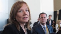 Mary Barra GM CEO on Engaged drivers in Intelligent Cars. NewCarNews.TV
