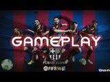 FIFA 14: GAMEPLAY demo HD 720p - Prime impressioni - match BARCELLONA - MILAN, pareri e novità