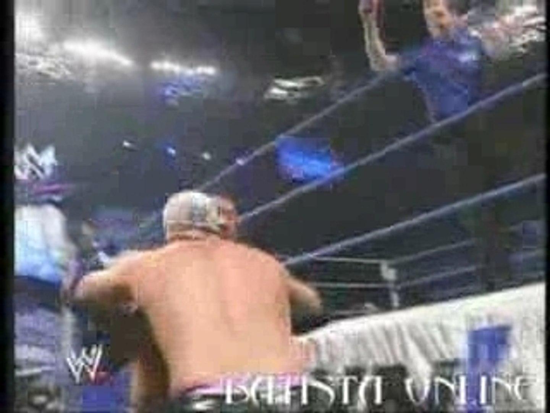 SmackDown.26.01.2007 - Batista Vs Gregory Helms