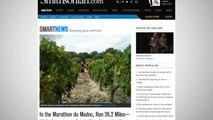 French Marathon Is Also A Wine Tasting Event