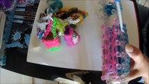 création sac rainbow loom :) vidéo tuto