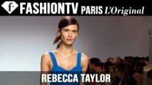 Rebecca Taylor Spring/Summer 2015 Runway Show | New York Fashion Week NYFW | FashionTV