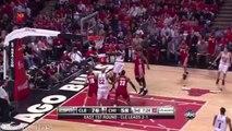 LeBron James Full Highlights 2010 R1G4 at Bulls - 37 Pts, 11 Assists, 12 Rebs