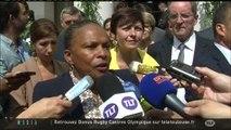 Christiane Taubira rouvre le tribunal de Saint-Gaudens