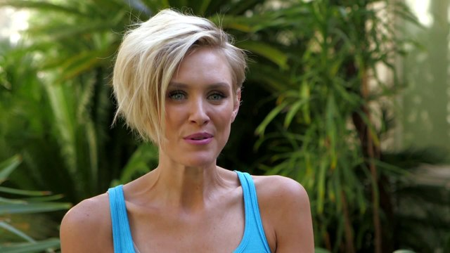 Poolside With Nicky Whelan