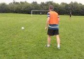 Player Hits Crossbar Twice in a Row